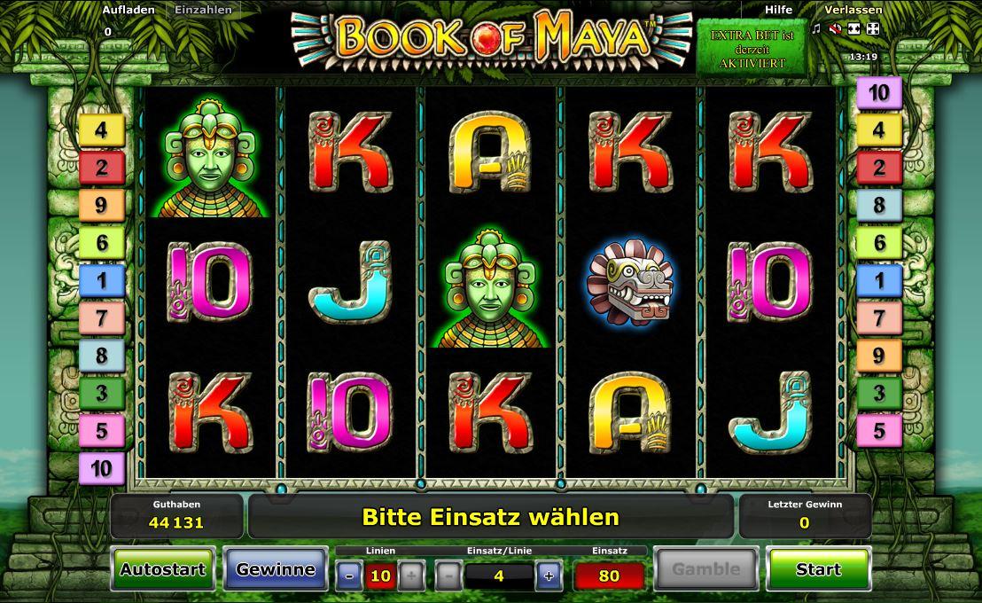 Book of Maya online spielen