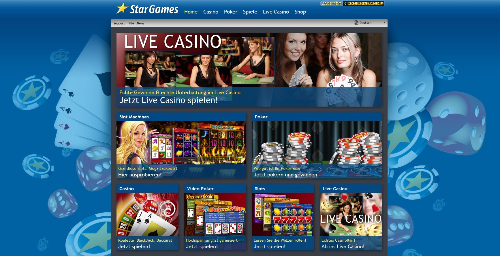 Stargames Online Casino