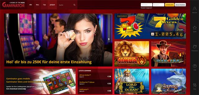 Super Gaminator Online Casino