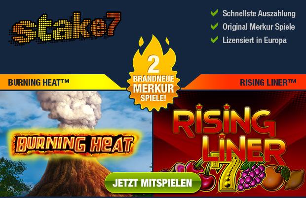 Merkur Burning Heat & Rising Liner