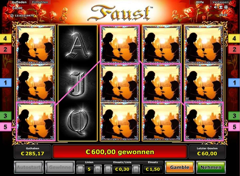 novoline casino online faust online