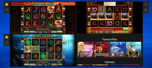 Super Gaminator mehrere Spielautomaten gleichzeitig